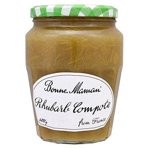 Bonne Maman Compote De Rhubarbe 600G - Paquet de 2