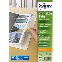 Avery - caja 96 pestañas adhesivas reposicionables de polipropileno surtido