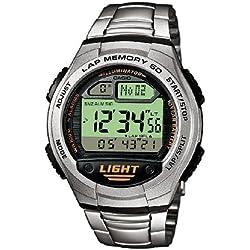 Casio Collection Reloj Digital Unisex con Correa de Acero Inoxidable – W-734D-1AVEF