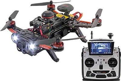 Piercing 15003780FPV Dron cuadricóptero de carreras, 250Avance RTF, con HD cámara