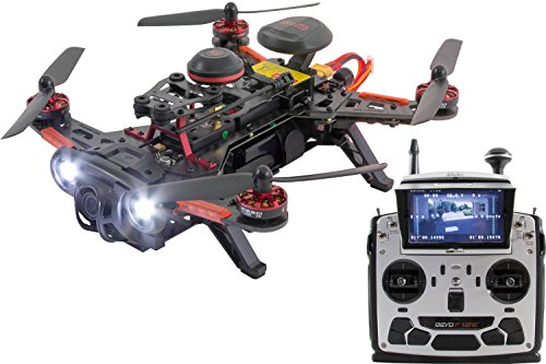 XciteRC 15003780 - FPV Racing Quadrocopter Drohne Runner 250 Advance RTF mit HD Kamera