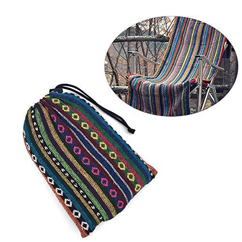 Bulz Tragbare Picknickdecke, Vintage, indisches Böhmisches Muster, vielseitig verwendbar, Campingmatte, Stranddecke, Tischdecke, 110 x 140 cm, mit Tragetasche