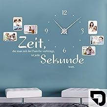 Suchergebnis Auf Amazon De Fur Wandtattoo Uhr Mit Uhrwerk Designscape