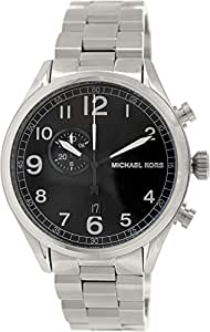 michael kors herren 45mm chronograph mineral glas datum. Black Bedroom Furniture Sets. Home Design Ideas