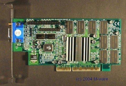 AGP-Grafikkarte 3Dfx Voodoo Banshee ID3102