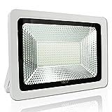 YOSION Extérieur & Intérieur 100W IP65 Imperméable LED Projecteurs en Blanc Chaud (3000-3200K)