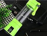 H Juicer Juicer de Paiement Mini Fruit Glass Portable Juice Électrique Juice Cup Creative Gift,Vert