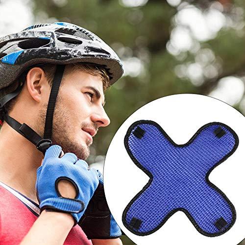 Motorradhelme Schutz Schweißband Pad, Insert Liner Cool 3D Air Mesh Hat Cap Air-mesh-liner