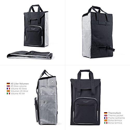 Einkaufstrolley – Royal Shopper Dante Einkaufstrolley schwarz - 3