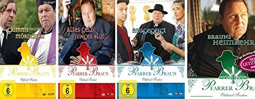 Seine letzten vier Fälle: Grimms Mördchen / Altes Geld, junges Blut / Ausgegeigt! / Brauns Heimkehr (4 DVDs)