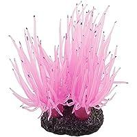 Planta de decoracion del acuario - SODIAL(R)Diseno de flor de coral decoracion del Acuario Pecera Planta bajo el agua Rosado