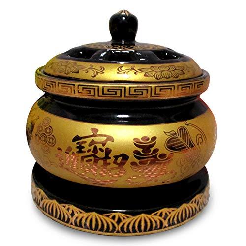 electric incense burner Keramik Weihrauch Brenner-Einstellbare Temperatur Timer Agarwood Aromatherapie Ätherisches Öl Elektrische Heizung Weihrauch-für Office Home SPA Aromatherapie Herd -