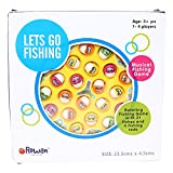 Best Kid Fishing Poles - Colorful Rowan Tyre Fishing Game, Musical and Rotating Review