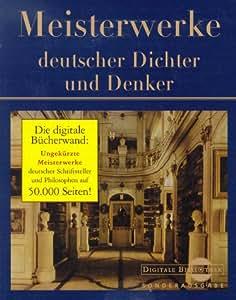 Meisterwerke deutscher Dichter und Denker. CD- ROM für Windows ab 3.11 (Digitale Bibliothek Sonderedition)