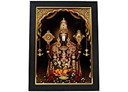 Venkatswara Swamy Lakshmi Photo Frame
