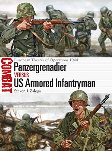 Panzergrenadier vs US Armored Infantryman: European Theater of Operations 1944 (Combat) por Steven J. Zaloga