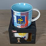 WUTONG2018 Russland World Cup Keramik Becher Kreative Bierglas Bar Bier Platz Fu?Ball Fan Geschenk