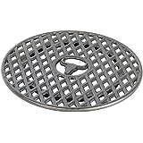Moesta-BBQ 19295 – Sizzle rooster van gietijzer – BBQ-disc-accessoires – 30 cm diameter – grillrooster inzet plancha/wokkroon