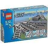 Lego City 7895 - Weichen + Lego City 7499 - Flexible Schienen