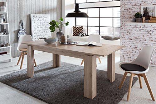 Tavoli Da Pranzo Shabby Chic : Trendteam tavolo da pranzo e salotto canyon in pino shabby chic