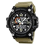 Skmei Analogue-Digital Black Dial Men's & Boy's Watch (Skmei-121283)
