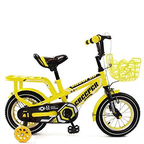 Kinderfahrrad,12-16 Zoll Jungen Und Mädchen Unterstützten Fahrrad
