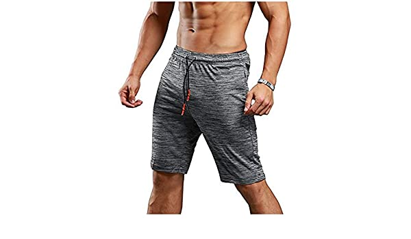 Chlyuan Shorts de Gymnastique dathl/étisme /à s/échage Rapide des Hommes Extensible des Shorts dentra/înement Actifs de Formation dentra/înement de Bodybuilding