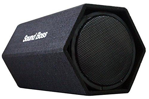 soundboss sbbt-10x22h 10-inch 500 watt powered subwoofer hexagon basstube with in-built amplifier SoundBoss SBBT-10X22H 10-Inch 500 Watt Powered Subwoofer Hexagon BassTube with In-Built Amplifier 5194WuuGeYL