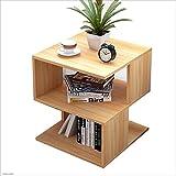 Feifei Einfache Moderne Mode Bett Kopf Multifunktions Lagerung Tisch Sofa Beistelltisch Kabinett Kleine Beistelltisch (Farbe : 01)
