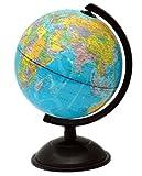 Idena 569906 Schülerglobus 18 cm mit politischem Kartenbild
