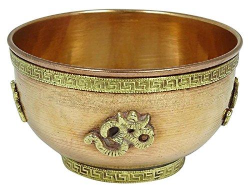 Servir indienne Vaisselle Bowl traditionnel cuivre Katori Accessoires de cuisine 1 Pcs