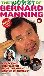 Bernard Manning: On The Job [VHS]