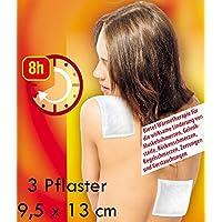 3 Stück Wärme-Pflaster 13 x 9,5 cm bei Rückenschmerzen Muskelschmerzen Zerrungen und Verstauchungen preisvergleich bei billige-tabletten.eu