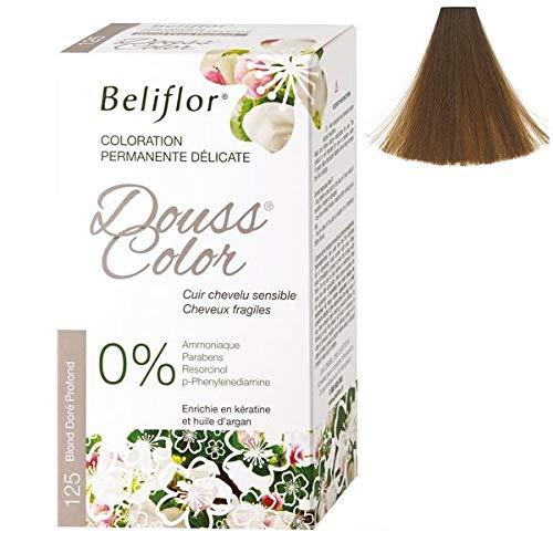Beliflor - Coloration Dousscolor Blond Doré Profond 131ml - 131Ml - Vendu par pièce - Livraison Gratuit en France