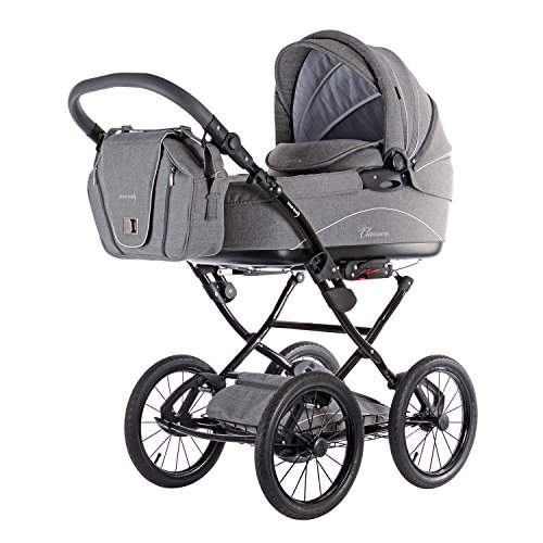 Kinderwagen Knorr-Baby 36000-4 Kombikinderwagen Classico, hellgrau