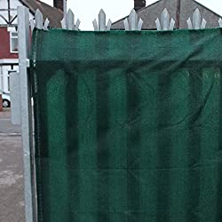 True Products 98% Shade Netting Green 1m x 5m - Also used as Privacy Screening, Windbreak, Garden Fence