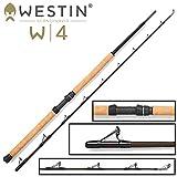 Westin W4 Boat XH 195cm 20-30lbs 150-400g - Bootsrute zum Pilken & Jiggen auf Dorsch, Seelachs & Heilbutt, Pilkrute, Meeresrute