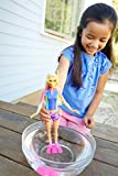 Enlarge toy image: Barbie FBD63 Dolphin Magic Snorkel Fun Friends Doll
