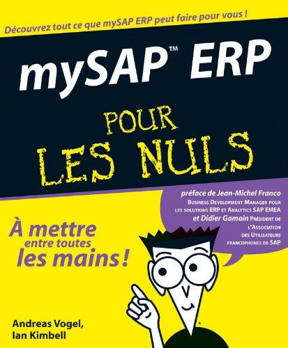 MySAP ERP Pour Les Nuls par Andreas Vogel