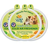 Citrus Magic Ambientador Macizo Absorbente de Olor para Mascotas, Paquete DE 3, 8 onzas Cada uno
