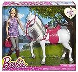 Barbie Doll & Horse Muñeca Y Su Caballo Mattel Spain DHB68