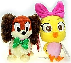 Bundle - 2 items: Disney Junior Cuckoo Loca 9 Plush AND Disney Junior Fifi 7 Plush by Disney
