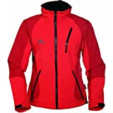 COX SWAIN TITANIUM 3-Lagen Damen Softshell Jacke FOREST - 15.000mm Wassersäule 10.000mm atmungsaktiv, Colour: Red, Size: L