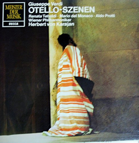 Meister der Musik Otello Szenen / Giuseppe Verdi - Renata Tebaldi - Mario del Monaco - Aldo Protti Wiener Philharmoniker / Herbert von Karajan / SMD 1255 / Selten / LP / Schallplatte / Vinyl (Szene Meister)