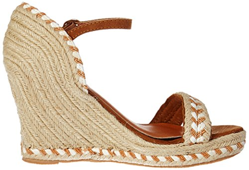 Z102P17, Sandales Bride Cheville Femme, Marron (Camel), 39 EUMolly Bracken
