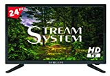 Stream System BM2419 - TV LED 24' HD Ready, HDMI, USB, VGA, 12V