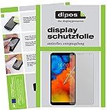 dipos I 2X Schutzfolie matt passend für LG Q Stylus Alpha Folie Displayschutzfolie