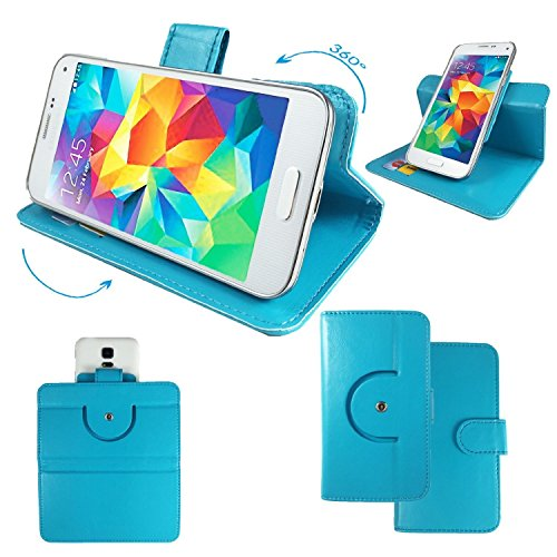 LETV LE1S Helio X10 Turbo Smartphone Tasche / Schutzhülle mit 360° Dreh und Standfunktion - 360 Türkis Nano L