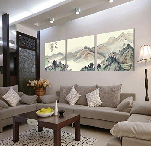 Lienzo-3 Gallery juego arte Oriental horizontal