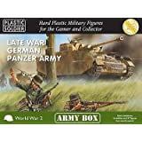 15mm Late War German Panzer Army (BLACK BOX) by Plastic Soldier Company